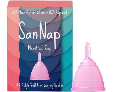SanNap Menstrual Cup